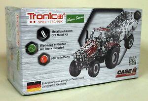 Tronico-18-5cm-Case-Magnum-340-Tractor-Trailer-Build-yourself-model-Tractor