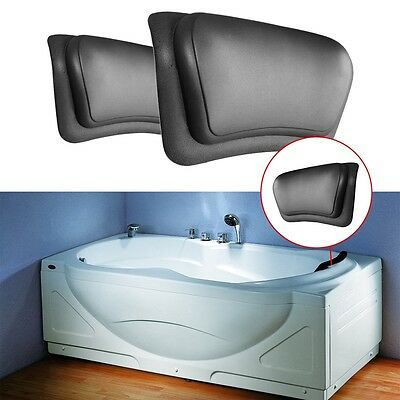 Spa Bath PU Pillow Soaking Tub Bathtub Neck Shoulder Support Relaxing Bathroom