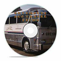 Rare Bus Travel By Greyhound, Tour And Travel Films, Freedom Highway On Dvd -j31
