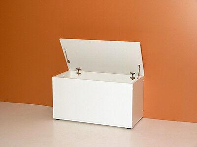 XXL Sitztruhe Sitzbank mit Stauraum 4 FARBEN wählbar Truhe Kinderzimmer Kiste