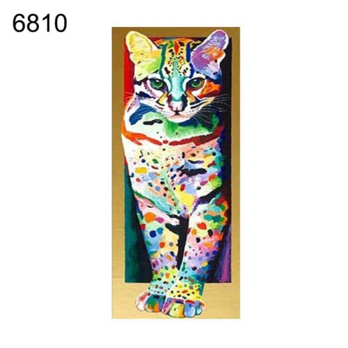 AM/_ FM Cute Animals 5D Diamond Painting Frameless Canvas Picture Wall DIY Decor