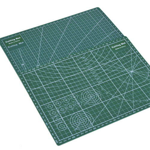 PVC Cutting Mat A4 Durable Self-Healing Cut Pad Patchwork Tools Handmade 30x20cm