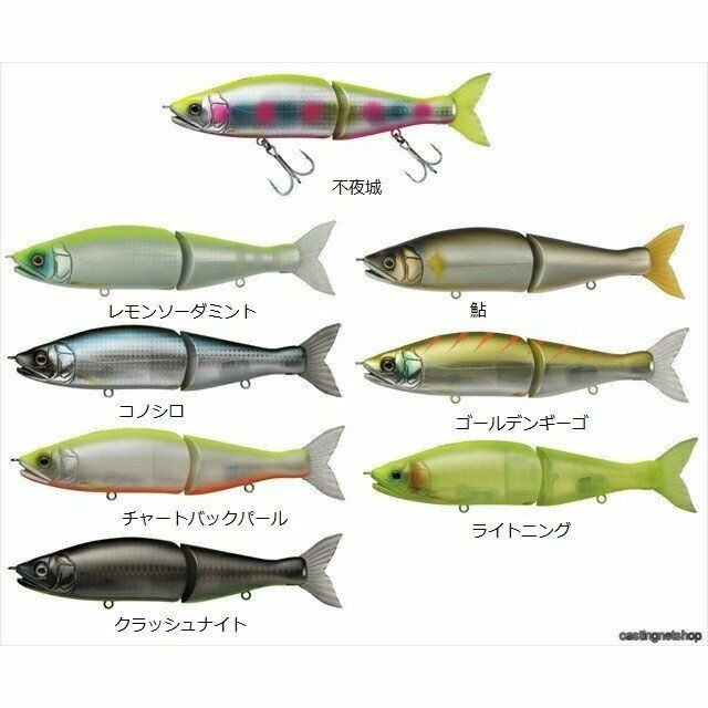 DAIWA Bass Big bait Jointedclaw 148S Variation color  Stylish anglers Japan  best quality
