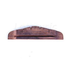 ukulele bridge for uke ukelele hawaii guitar parts replacement slotted ebay. Black Bedroom Furniture Sets. Home Design Ideas