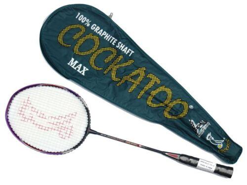 Cockatoo Cockatoo Max Badminton Racket (Green) Racquet Cary Case Club School