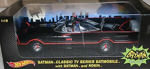 Hot-Wheels-1-18-Scale-1966-Batmobile-NEW-boxed-corgi