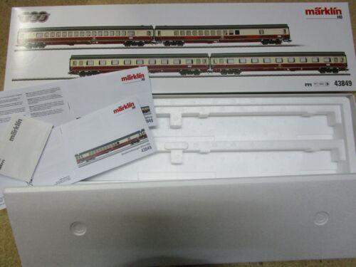 Märklin H0  43849 Leerverpackung Personenwagen-Set Rheingold Flügel OVP NEU