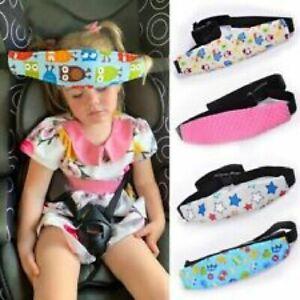 Safety Car Seat Stroller Baby Kids Sleep Nap Aid Head Fasten Support Holder Belt