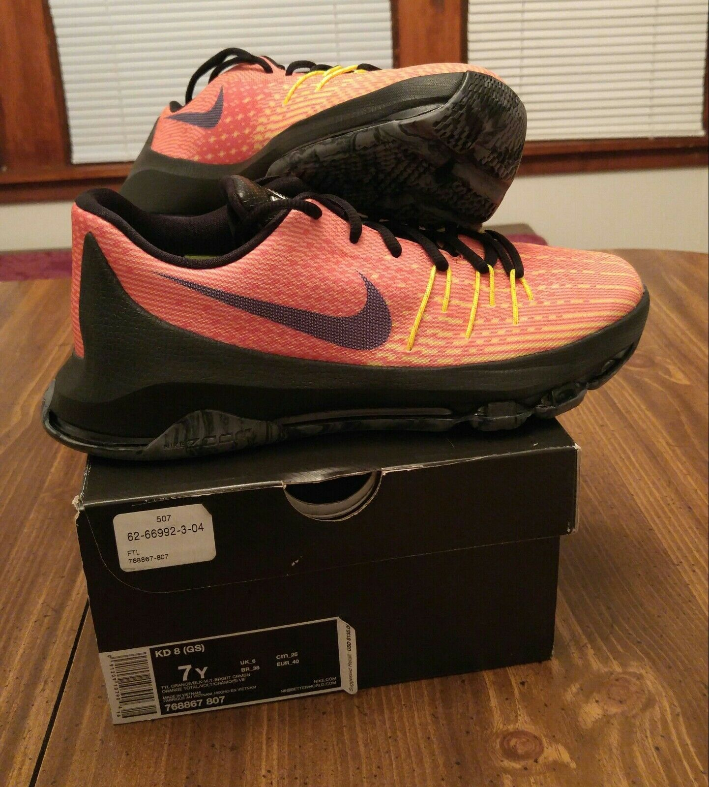 Wild casual shoes Nike KD 8 Price reduction Comfortable
