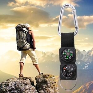 Outdoor-Sport-Keychain-Travel-Carabiner-Hiking-Compass-Thermometer-Survival-Tool