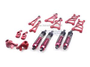 E10mst-s1 Set complet en aluminium rouge Ergal 1/10 Buggy Pièces de rechange courtes Himoto
