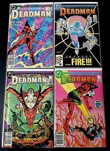 DEADMAN-1-4-2-3-1st-Print-Complete-Series-DC-Comics-Lot-Garcia-Lopez-1986-FN-VF