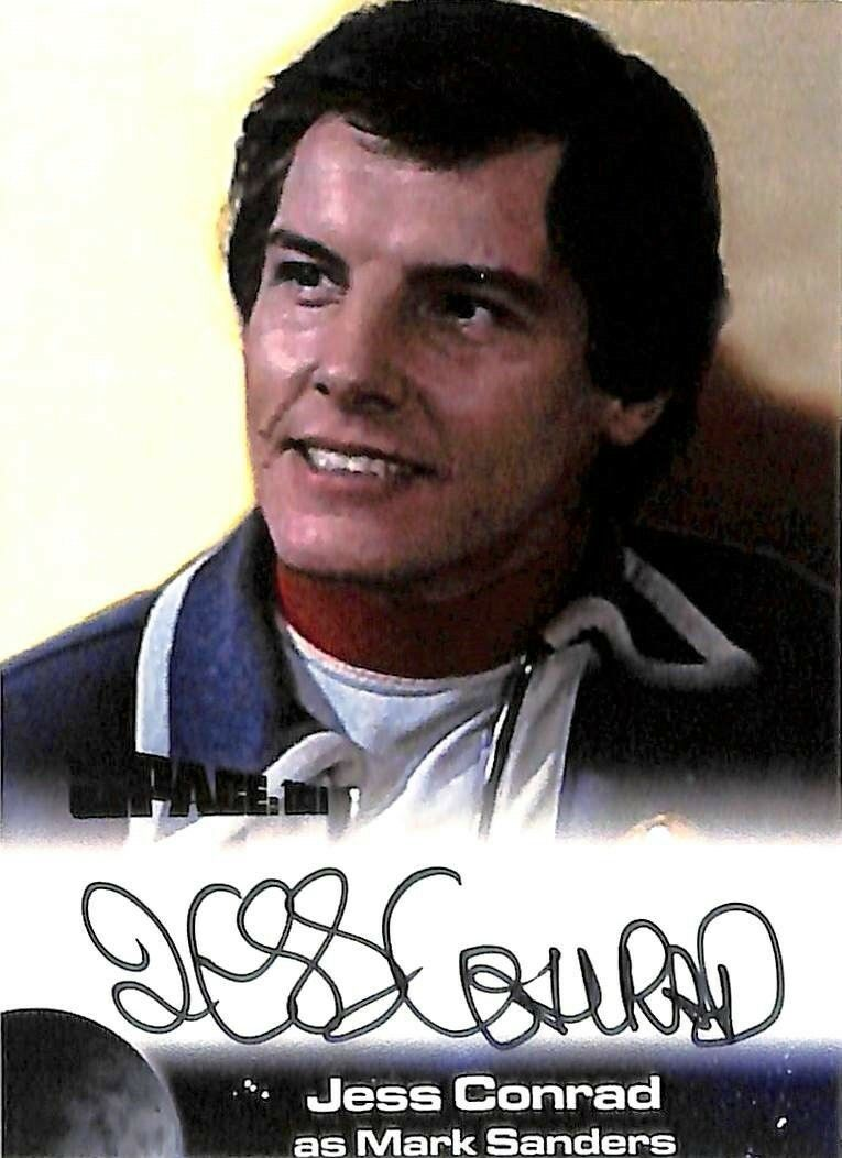 Gerry Anderson Space Space Space 1999 Unstoppable Autograph JC2 Jess Conrad - Mark Sanders 897cc9
