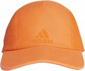 da120e3e619 Image is loading Adidas-Ladies-Bright-Orange-Climacool-Cap-Baseball-Running-