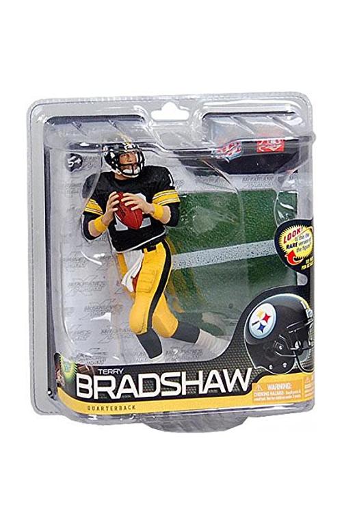 McFarlane NFL Series 26 Terry Bradshaw Pittsburgh Steelers Action Figure