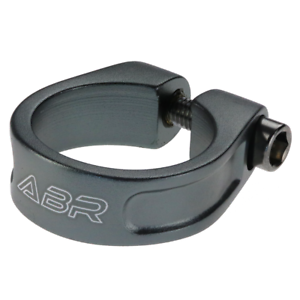CLEARANCE ABR Orbiter Bolted Seat Clamp BLACK 34.9mm