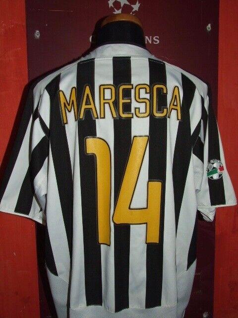 MARESCA JUVENTUS 2003.2004 MAGLIA SHIRT CALCIO FOOTBtutti MAILLOT JERSEY CAMISETA