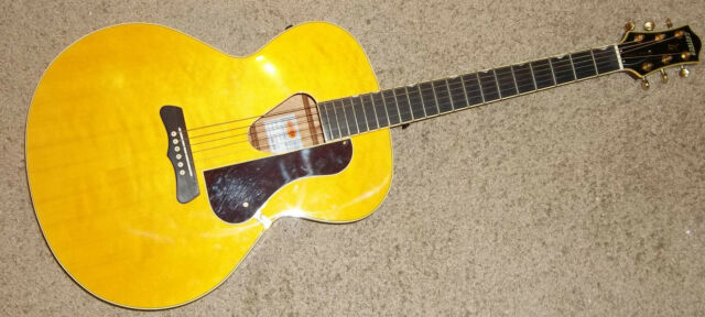 Gretsch Historic G3203 Hawaiian Acoustic Electric Guitar w/Fishman Pickup Spruce