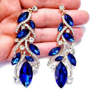 Blue-Chandelier-Drop-Earrings-Rhinestone-Crystal-3-2-in
