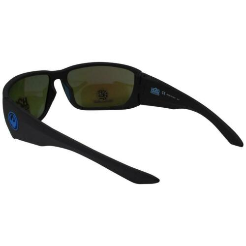 Dragon DR Tow In H2O Sunglasses Matte Black Frame 007 Polarized Blue Ion Lens