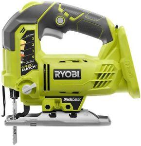 Ryobi jig saw 18 v one orbital blade saver portable power cutting image is loading ryobi jig saw 18 v one orbital blade keyboard keysfo Choice Image