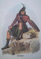 Clan Mackay - Scottish Tartan Art Print - MATTED