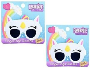 New UNICORNS Fingerlings White Unicorn Kids Sunglasses