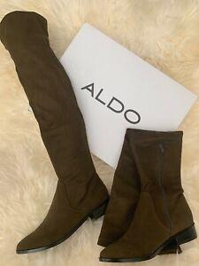Aldo Women's 6.5 Thigh Highs Boots Dark
