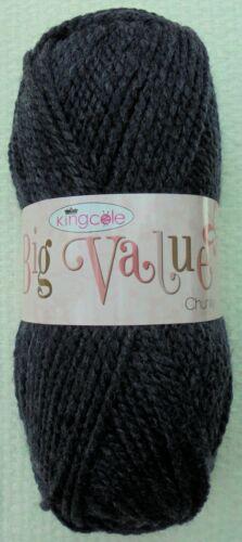 Tejido de lana 100g Big valor hilo grueso Grueso King Cole