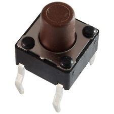 10 Diptronics DTS-63N-V Mini-Taster 12V 50mA 1xEIN 1,6N 6x7,0mm liegend 855612