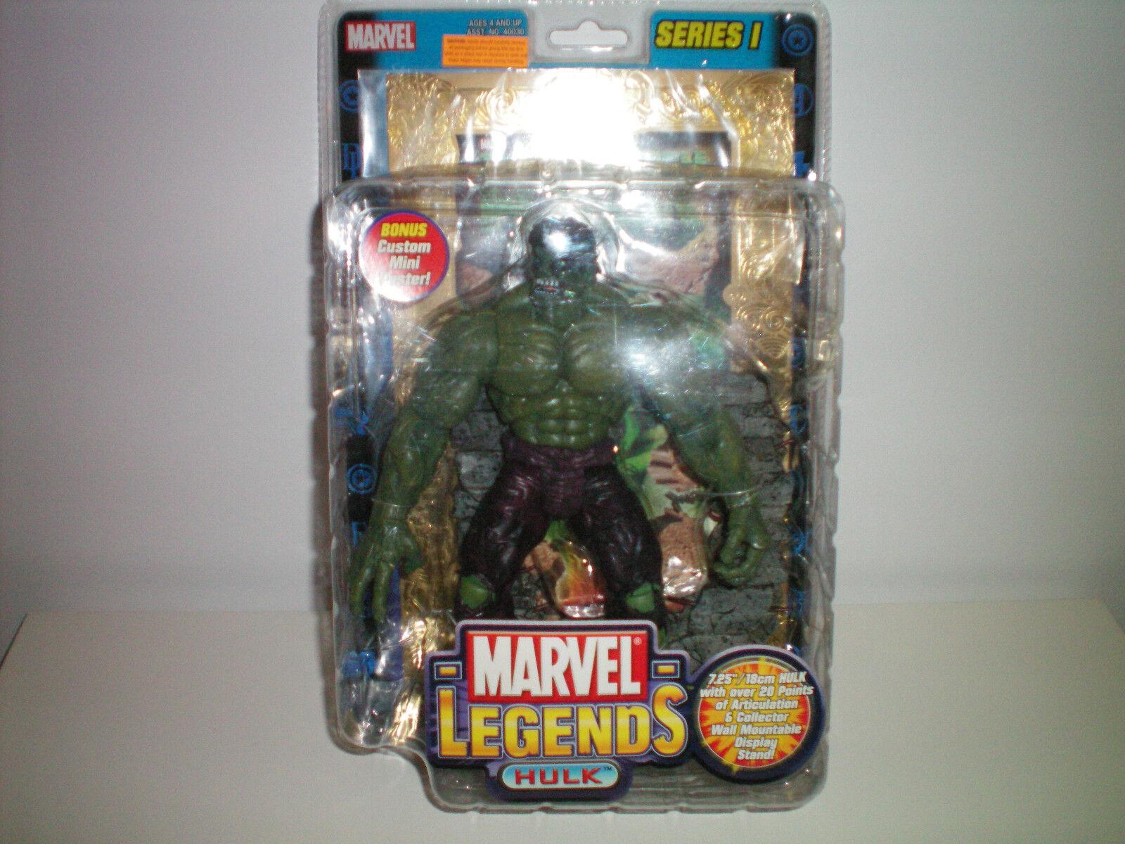 Marvel - legenden hulk Gold card variante abbildung reihe 1 avengers neue (alter ultron