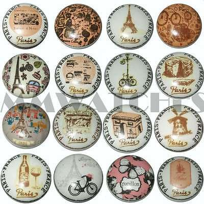 VINTAGE FRENCH SHABBY CHIC PARIS COLLECTION CERAMIC CUPBOARD DOOR KNOBS DRAWER
