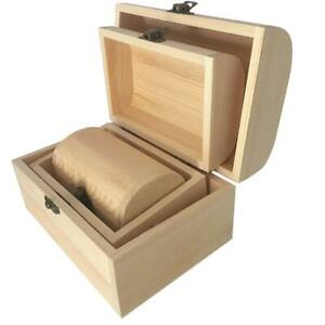 3x-Plain-Wooden-Pirate-Treasure-Chest-Wood-Jewellery-Storage-Art-Craft-Box-Boxes