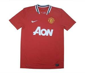 Manchester-United-2011-12-Authentic-Home-Shirt-eccellente-M-SOCCER-JERSEY