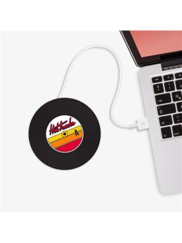 USB Cup Warmer Plaque Chaude Vinyl Record Collector musicien musique DJ cadeau