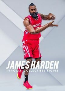 1 9 Scale ENTERBAY Motion Masterpiece NBA Collection James Harden Action  Figure1 07586200c