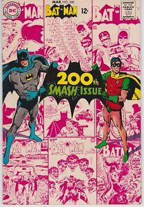 Batman-200-VF-8-5-Robin-The-Joker-Scarecrow-Chic-Stone-Art