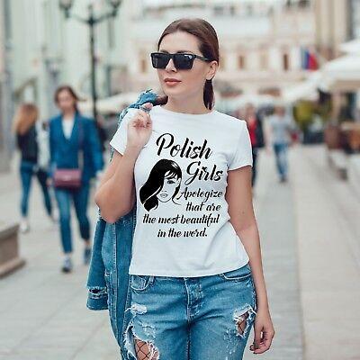 UNBREAKABLE POLISH GIRL Damska Koszulka Polska Super Koszulki Polski