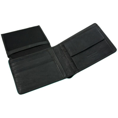PIERRE CARDIN Herren Leder Geldbörse Geldbeutel Brieftasche Portemonnaie
