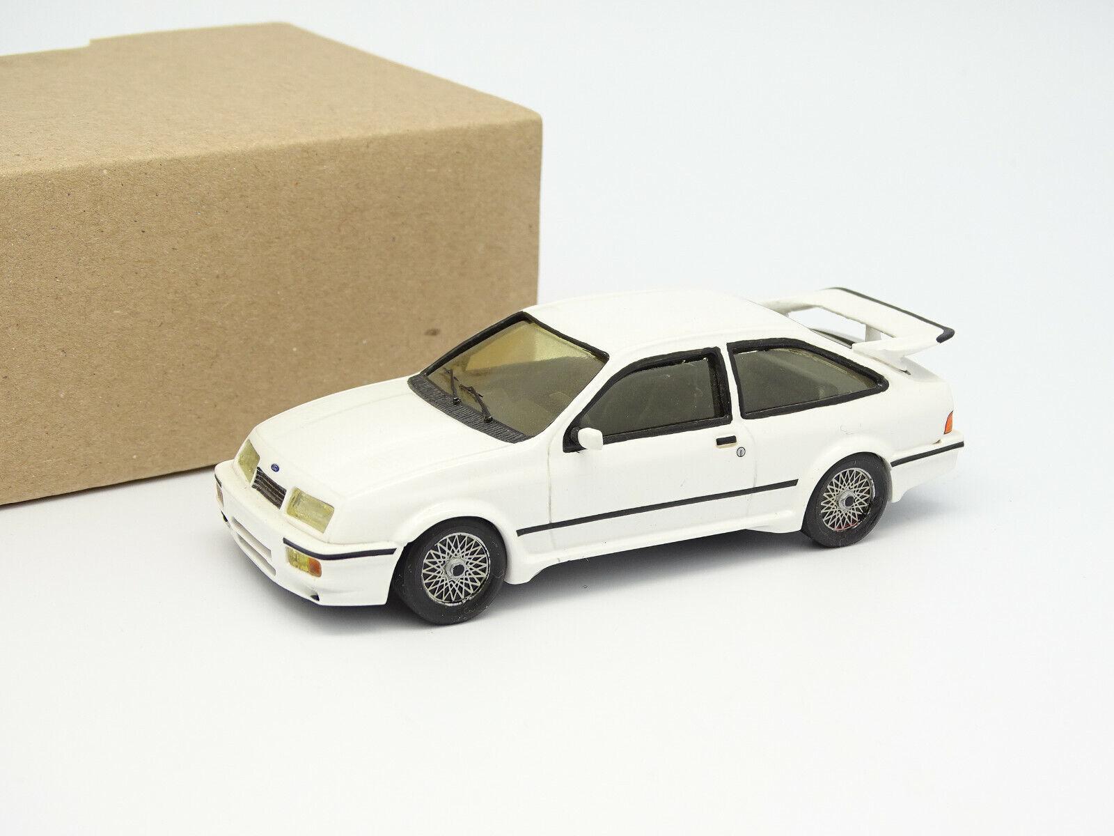 Jemmpy Kit Montato Resina 143  Ford Sierra Cosworth 3 Porte Bianco