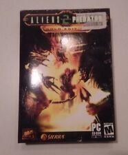 Aliens Versus Predator 2: Gold Edition (PC, 2003) - 100% * w/ Primal Hunt Ext.