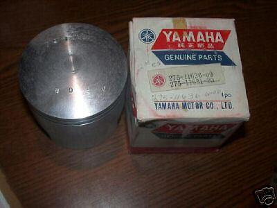 NOS Yamaha RT1 360 RT-1 .50  Piston 275-11636-00