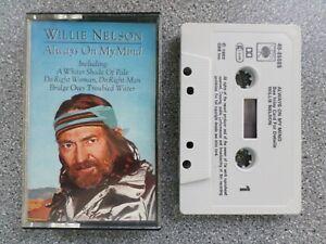 WILLIE-NELSON-ALWAYS-ON-MY-MIND-CASSETTE-TAPE