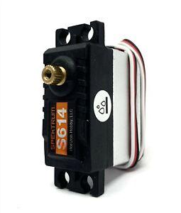 Axial-SMT10-Grave-Digger-Steering-SERVO-S614-metal-gear-WP-Spektrum-AXI03019