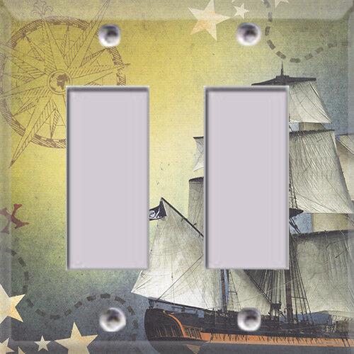 Diy Materials Pirate Ship Kids Room Themed Light Switch Plate Cover Choose Your Cover Home Furniture Diy Quatrok Com Br