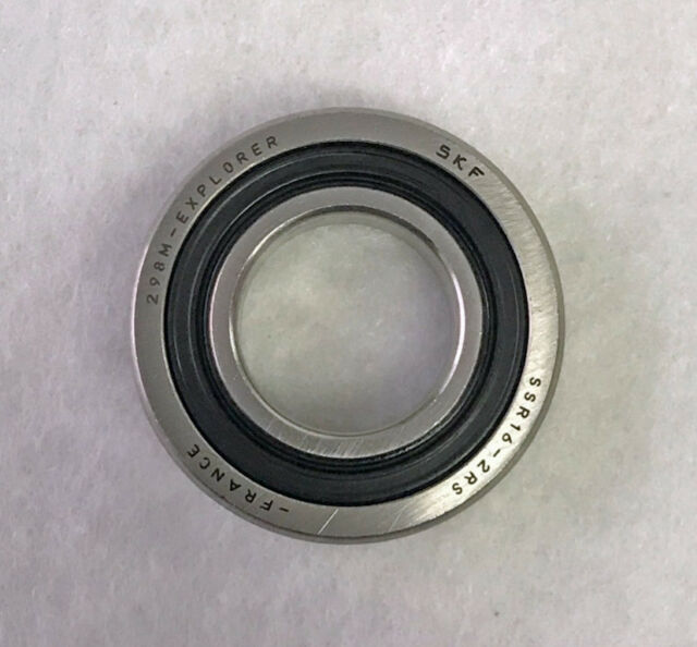 SSR16 2RS SKF Stainless Steel Single Row Radial Ball Bearing