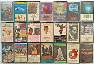 Lot-of-21-Cassette-Tapes-Various-Artists-and-Themes
