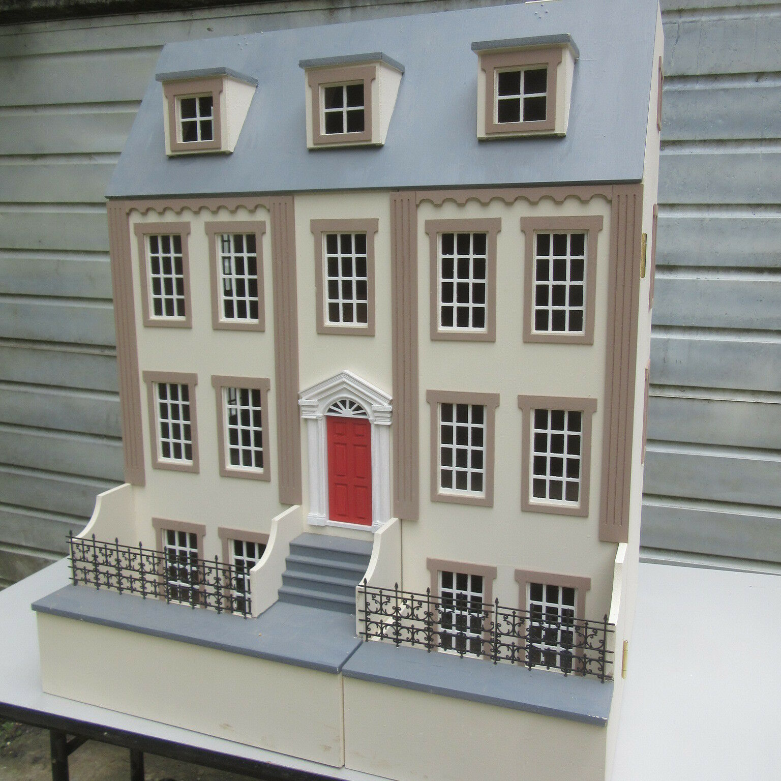 1 12 scale Dolls House The Jackson 8 room kit by DHD Dolls House Direct