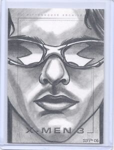X-MEN-3-The-Last-Stand-Scott-Summers-Cyclops-sketch-SketchaFex-Sean-Pence-card
