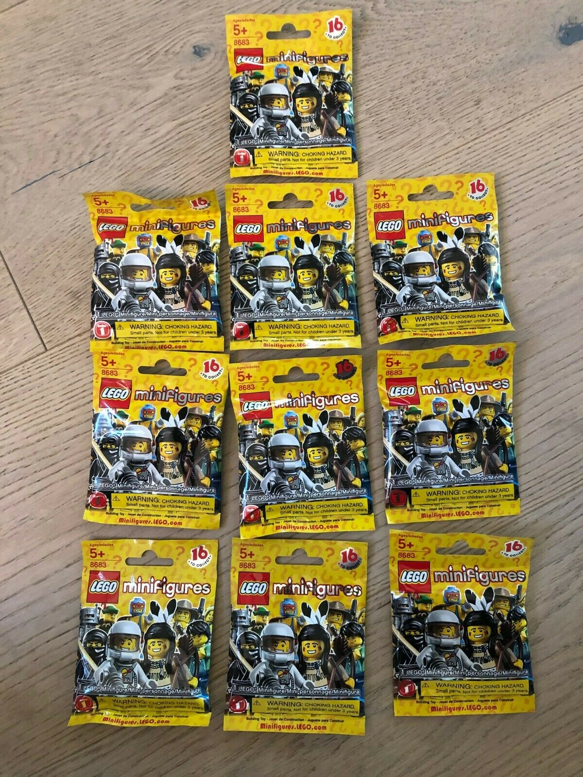 LEGO Minifigures Series Mystery Pack (Set of 10)